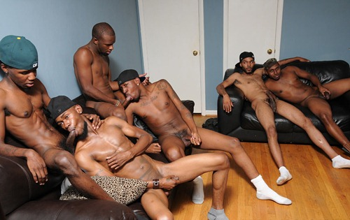 thug orgy dark meat feast