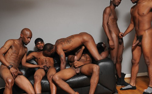 Black Gangster Gay Sex